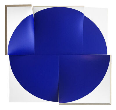 Jan Maarten Voskuil, 'Flat-Out Pointless Blue, Improved and Renewed', 2017