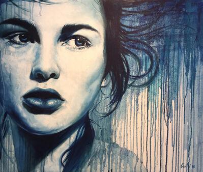Cveta Markova, 'Portrait in Blue ', 2018