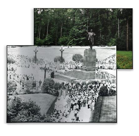 Indrė Šerpytytė, 'Pedestal, Summer Crowd', 2017