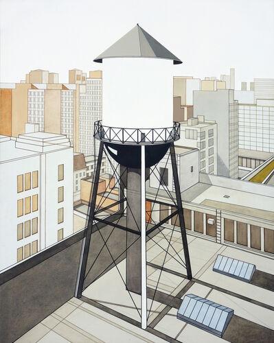 William Steiger, 'Watertower Outside Studio', 2013
