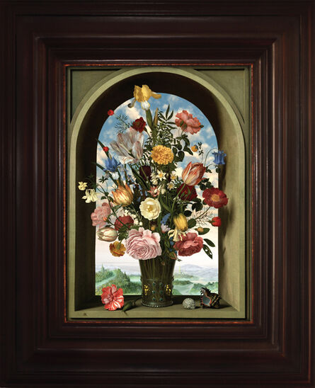 Rob and Nick Carter, 'Transforming Still Life Painting (after Ambrosius Bosschaert the Elder)', 2009