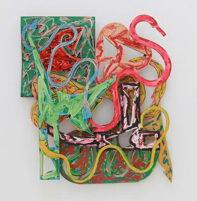 Frank Stella, 'Pau', 1982
