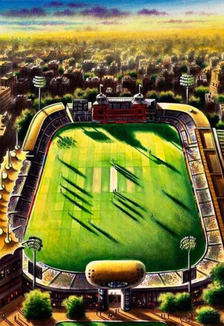 John Duffin, 'Lord's Cricket Ground', 2020