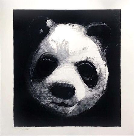 Charming Baker, 'Flocked Panda Head 20', 2018