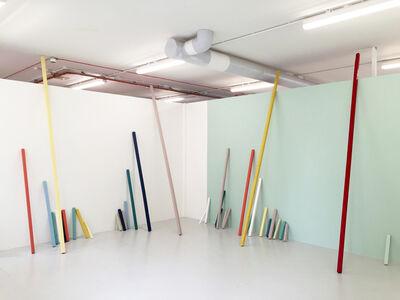 Aaron Kaveh Ossia, 'People of refinement avoid vivid colours', 2015