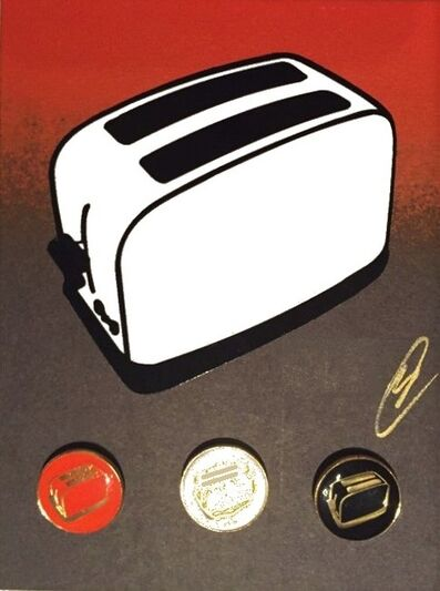 The Toaster, 'Toaster Badge Set (4 badges/set)', ca. 2021