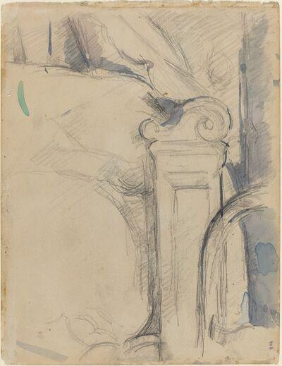 Paul Cézanne, 'Bedpost [verso]', ca. 1895