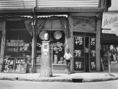 Marion Post Wolcott, 'Bennie's grocery store. Sylvania, Georgia', 1939