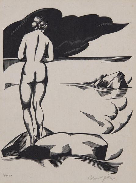 Robert Gibbings, 'The Sun Bather', 1933