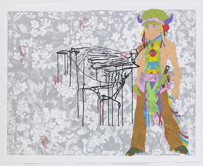 Ghada Amer & Reza Farkhondeh, 'The Weeping Bird', 2007