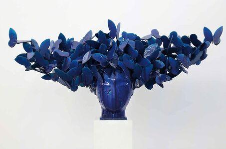 Manolo Valdés, 'Mariposas azules', 2016
