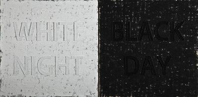 Huang Rui 黄锐, 'White Night / Black Night', 2013