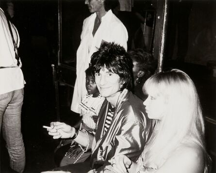 Andy Warhol, 'Andy Warhol Photograph of Ronnie Wood (the Rolling Stones) at Studio 54'