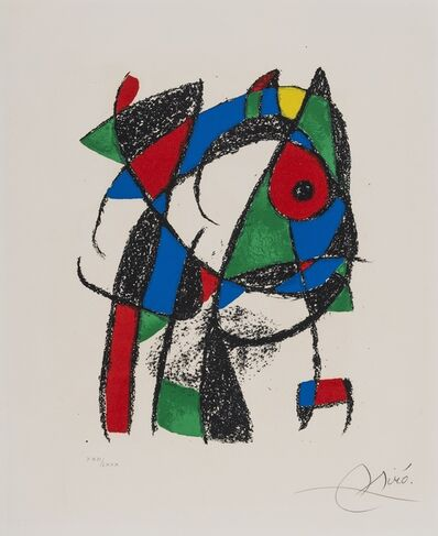 Joan Miró, 'Untilted. Lithographie II (Mourlot 1037)', 1975