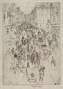 Joseph Pennell, 'New Oxford Street, London', 1893