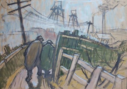Norman Cornish, 'Walking to the Dean and Chapter Colliery '