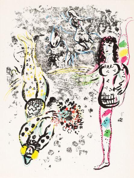 Marc Chagall, 'Le Jeu des Acrobates (Acrobats at Play)', 1963
