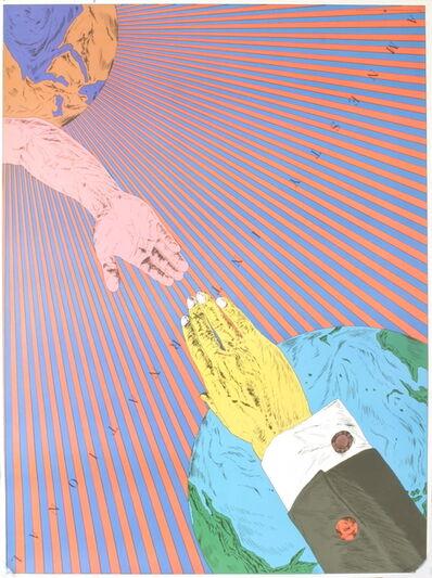 Tadanori Yokoo, 'Amnesty International', 1977