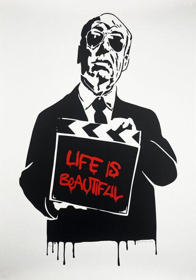 Mr. Brainwash, ''Art is Beautiful (Hitchcock)' (red)', 2008