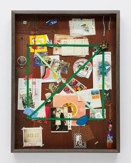 Vik Muniz, '信箱,香港(手工制作棕色版) Letter Rack, Hong Kong(Brown)(Handmade)', 2019