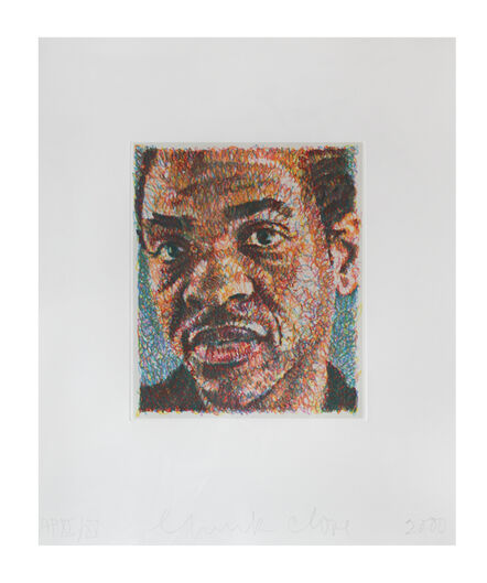 Chuck Close, 'Lyle', 2000