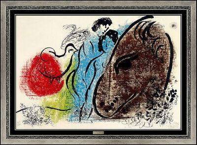 Marc Chagall, 'The Sorrel Horse (m.61)', 1952
