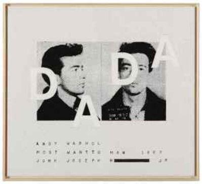 """Richard Pettibone, 'Andy Warhol, """"Most Wanted Man No. 11, John Joseph H."""", 1963', 2002"""