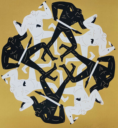 Cleon Peterson, 'Eclipse, Gold', 2017