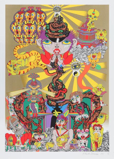 Keiichi Tanaami, 'Lost and Wandering Bridge Series_3', 2011