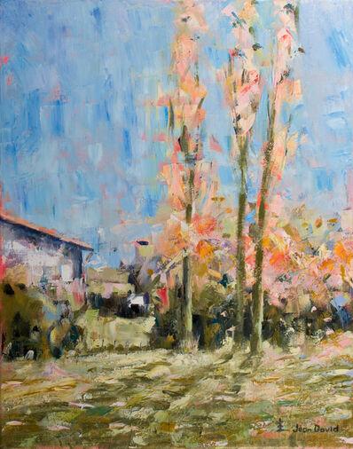 Jean David, 'Three Poplars', 2019