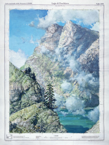 Uwe Walther, 'Lago di Poschiavo', 2011