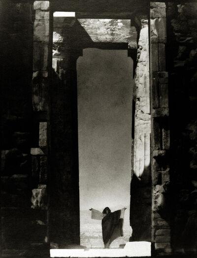 Edward Steichen, 'Isadora Duncan at the Portal of the Parthenon, Athens', 1920