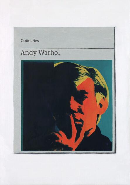 Hugh Mendes, 'Obituary: Andy Warhol ', 2017