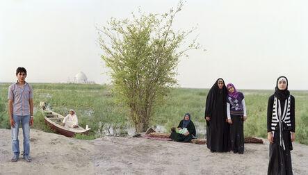 Meridel Rubenstein, 'Adam and Eve in the S. Iraq Marshes', 2011-2012