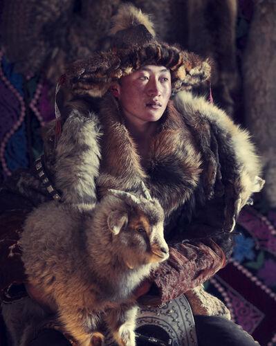 Jimmy Nelson, 'XXX 15 Esker Eagle hunter Sagsai, Bayan Ulgii Province,  Mongolia 2017 ', 2017