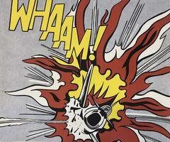Roy Lichtenstein, 'Whaam!', 1963