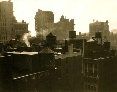 Rudy Burckhardt, 'Chelseascape III, New York', ca. 1947
