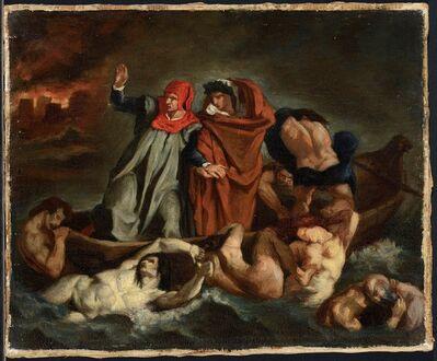 Édouard Manet, 'The Barque of Dante (after Delacroix)', 1854