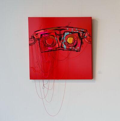 Tanya Akhmetgalieva, 'Red phone', 2014
