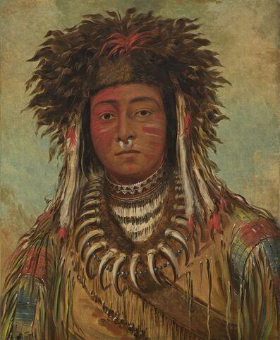 George Catlin, 'Boy Chief - Ojibbeway', 1843