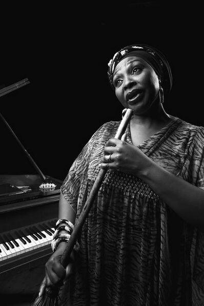 Adrian Steirn, 'Yvonne Chaka Chaka: Her Voice and a Brookstick', 2013