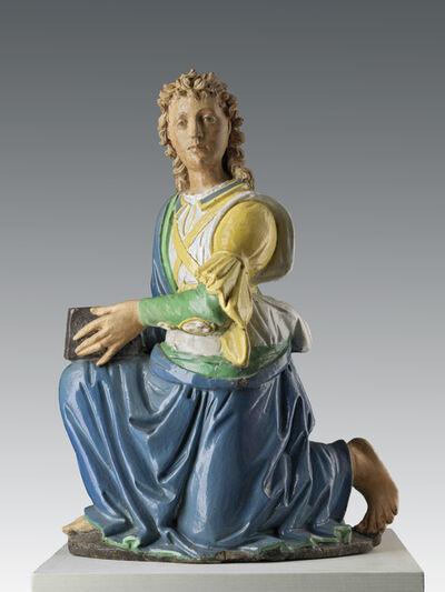 Benedetto da Rovezzano, 'Pair of candle-holding angels', ca. 1510