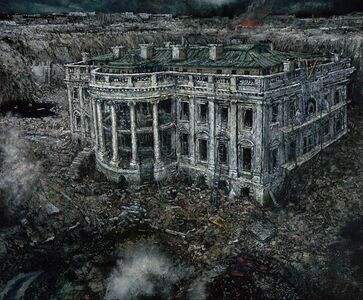 Chester Arnold, 'A Natural History of Disaster II: The Excavation of the White House, 2152 A.C.', 2019