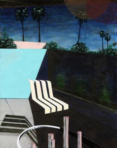 Erik Parra, 'Exterior with Chair after Richard', 2017