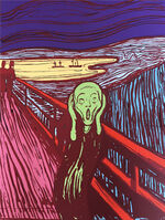 Andy Warhol, 'The Scream - Green', 1967 printed later