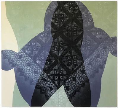 Marcy Rosenblat, 'Blue Grey Veil', 2020