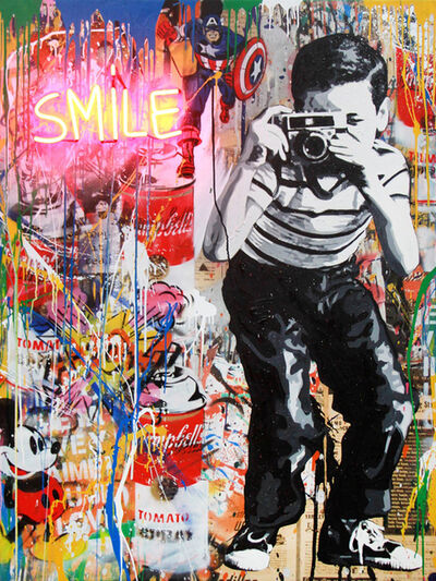 Mr. Brainwash, 'Smile (NEB039)', 2019