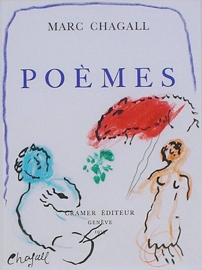 Marc Chagall, 'Poemes', 1976