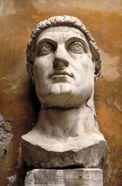 'Constantine the Great, head from a colossal statue', ca. 313-315 (or 330).