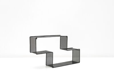 Mathieu Matégot, 'Black Dedal Shelf', ca. 1950